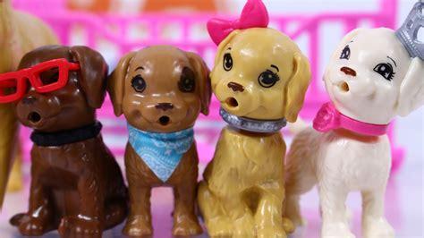film barbie z pieskami barbie her sisters in the great puppy adventure playset