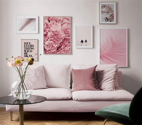picture wall inspiration  living room posters desenio