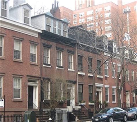 row house nyc featured homes the little house that could the federal row house in new york