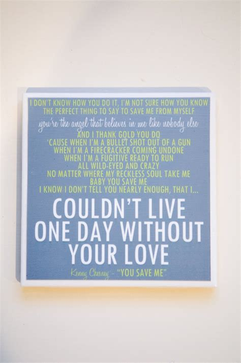 save it for the bedroom lyrics kenny chesney quot you save me quot lyric art coaster