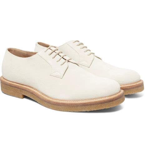 dries noten suede derby shoes for lyst