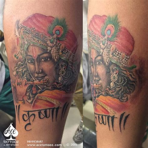 hare krishna tattoo designs lord krishna designs ace tattooz studio