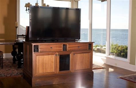 tv cabinet that raises the tv smart tv cabinets keeping tv components cool nexus 21