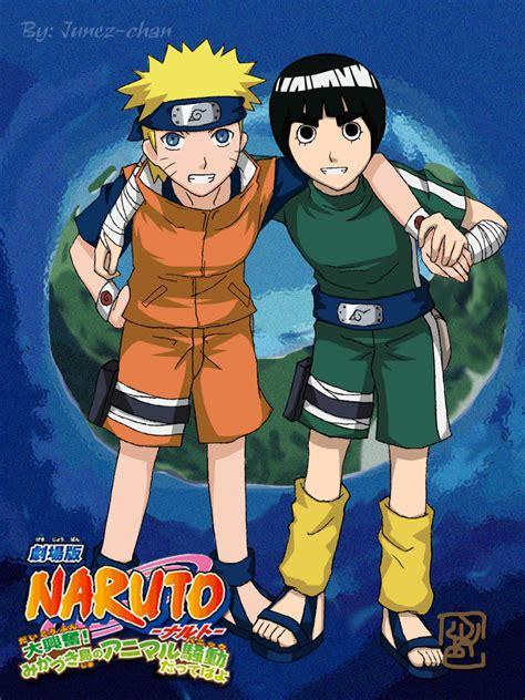 film naruto rock lee naruto naruto the movie 3 minitokyo