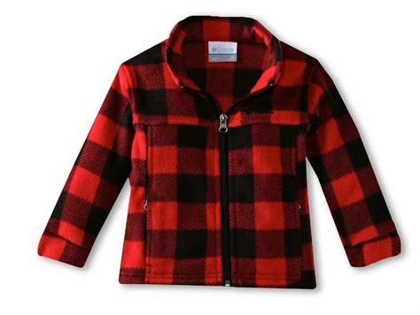 baby boy red and black checkered shirt new toddler boys columbia zing ii red black plaid