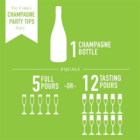 party tips chagne party tips how many glasses in a chagne bottle celebrate everyday
