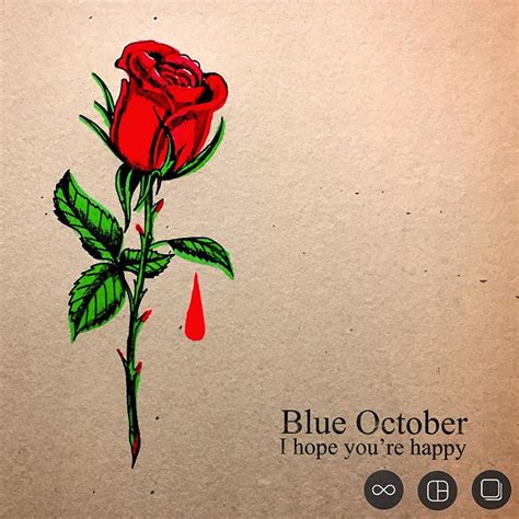 blue roses cover your tracks blue october release new lyric for i you re