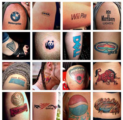 tattoo logo brand avemarketing um blog de marketing gest 227 o e comunica 231 227 o