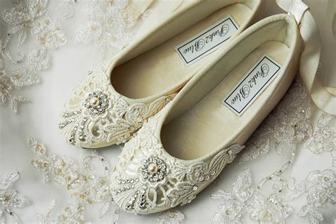 wedding flower shoes flower shoes flower ballet flats wedding vintage