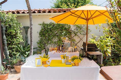 backyard baby shower ideas yellow backyard baby shower wedding ideas 100