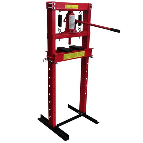 1 Ton Hydraulic Floor Press by Vidaxl Co Uk 12 Ton Hydraulic Heavy Duty Floor Shop Press