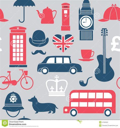 Symboles De La Grande Bretagne Illustration De Vecteur