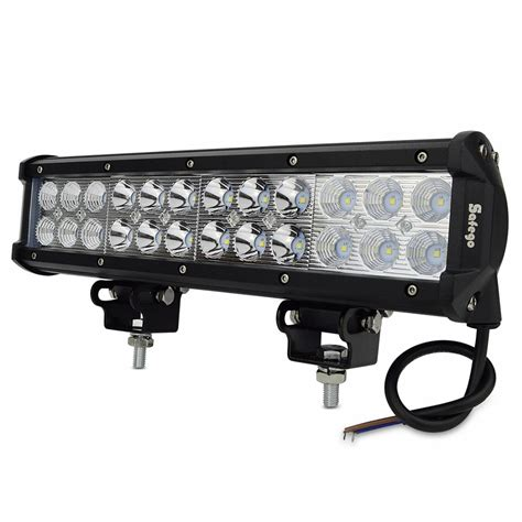 12 In Led Light Bar 12 Quot Inch 72w Cree Led Work Light Bar External Light For Tractor Boat Road 4wd Truck Suv Atv