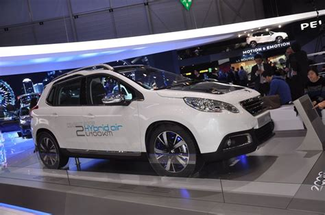 Peugeot Hybrid Air by Albums Photos Peugeot 2008 Hybrid Air