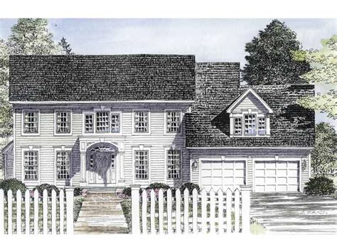 traditional colonial house plans traditional center hall colonial 19580jf architectural