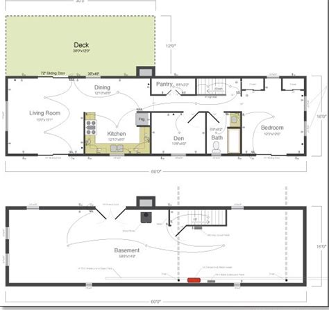 small house floor plans with basement small cottage house plan studio design gallery