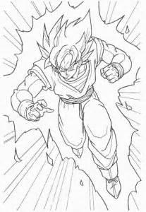 dragon ball z coloring pages super saiyan dragon ball z goku super saiyan coloring pages