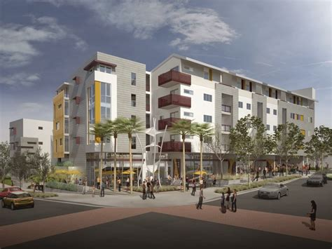 Affordable Housing Los Angeles by Building Los Angeles Gold Line Adjacent Affordable Housing In Boyle Heights
