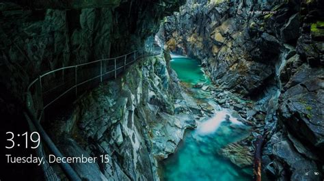 wallpaper windows 10 location gorge walk unknown location from windows 10 spotlight