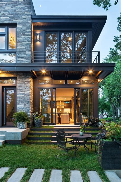 contemporary home exteriors design flat exterior design exterior contemporary with stone wall