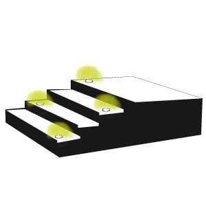 eclairage marche escalier exterieur eclairage escalier exterieur pas cher