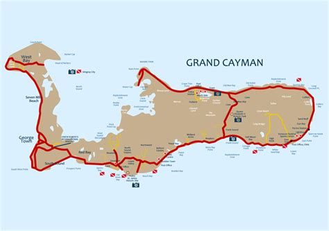 grand cayman map grand cayman shopping map pictures to pin on pinsdaddy