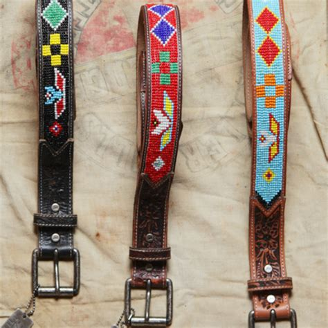 how to make beaded belts chad s drygoods beaded belts not just for indians