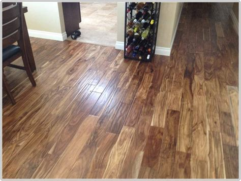 Acacia Natural Hand Scraped Hardwood Flooring   Flooring