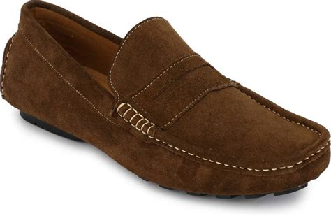 comfort shoes india boggy comfort loafers buy brown color boggy comfort