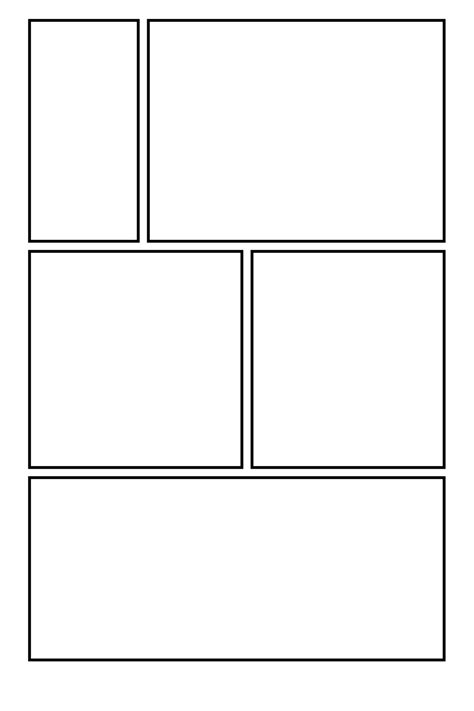 comic template pdf comic clear 11 by template on deviantart