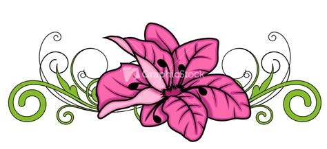 decorative flowers decorative flower divider vector design