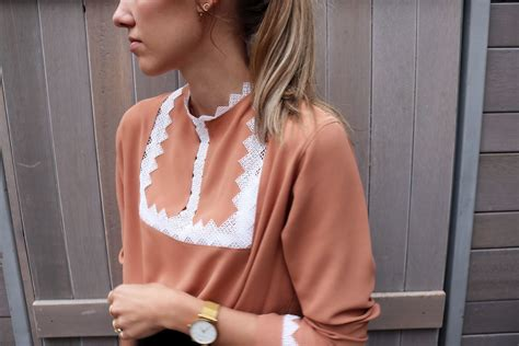 Blouse Side Ribbon Straps how to blouse with neckline and sleeve lace detail contour affair