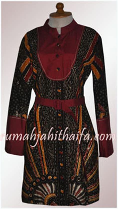 Atasan Heroes 2 blazer tenun dan 2 blouse batik order jahit ibu riene