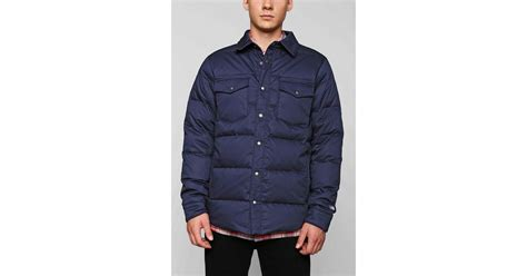 Jaket Tnf Cowok outfitters the cook shirt jacket in