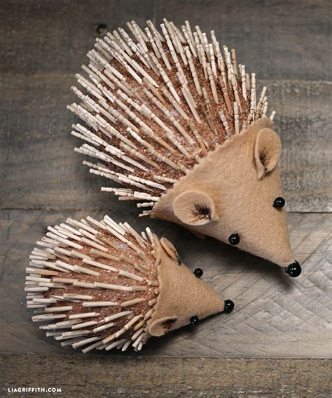 hedgehog crafts for diy hedgehog for to craft lia griffith