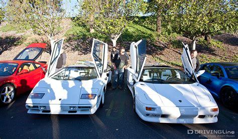 Lamborghini Countach Miami Vice Best Of Show February Cars Coffee Drivingline