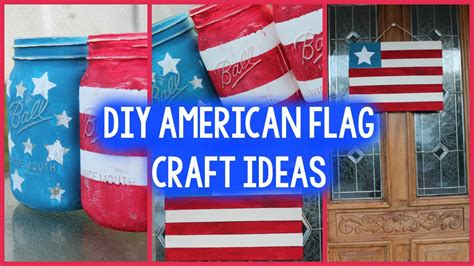 Patriotic Home Decorations diy memorial day room decor 4th of july craft ideas