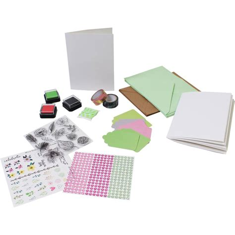 Papercraft Sets - botanical bliss papercraft starter set hobbycraft
