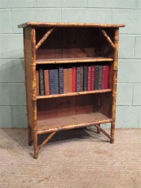 rattan bookshelves antique edwardian bamboo rattan bookcase c1900 w6729 9 1 147985 sellingantiques co uk