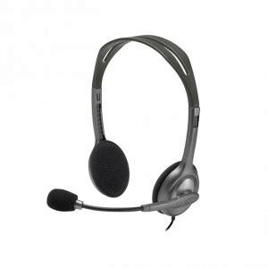Headset Logitech H 110 Stereo Garansi 1 Tahun headset stereo logitech h110