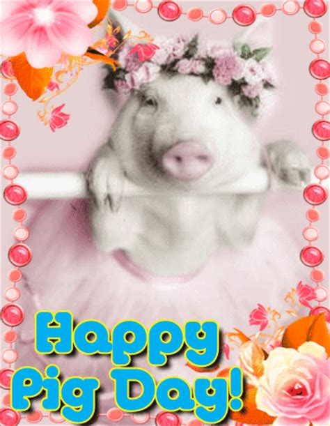 cute piggy  pig day  pig day ecards greeting cards
