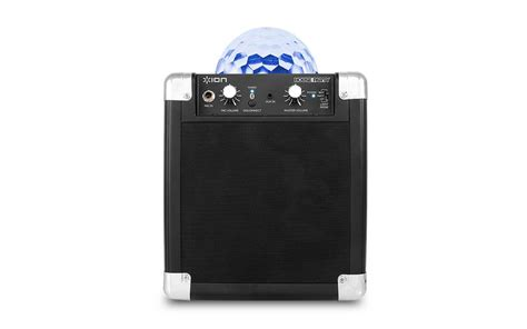 portable speaker with lights ion house party portable bluetooth speaker with party