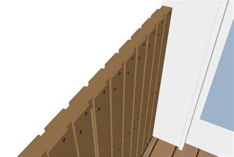 lamellen hout verticaal schutting met verticale planken plaatsen tips berekening
