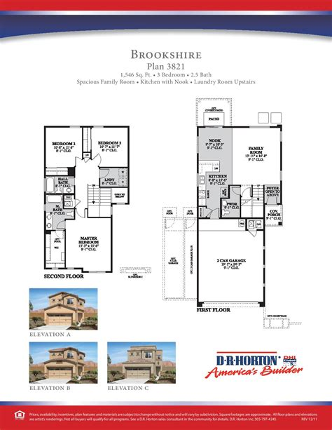 nation new home construction floor plans