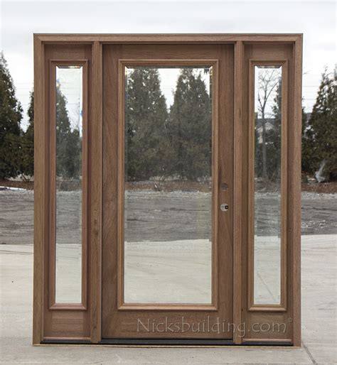 Exterior Wood Doors Cheap Exterior Lite Doors Cl 668