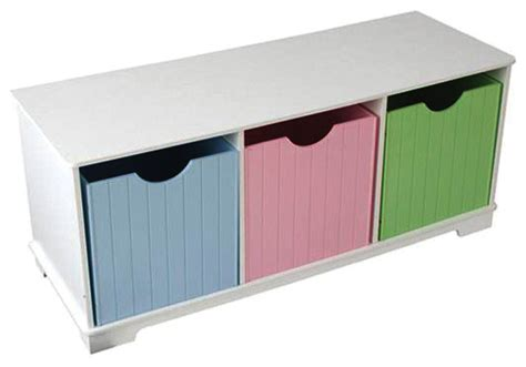 kids toy storage bench kidkraft kids room gift doll organizer nantucket play toy