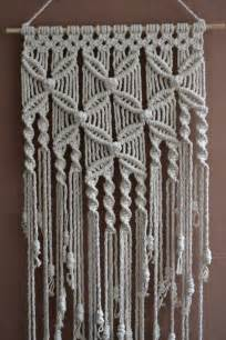 Macrame Stitches - 25 best ideas about macrame wall hangings on