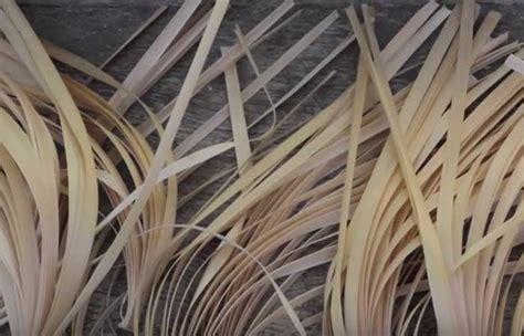 Pisau Raut Bambu cara membuat produk kerajinan bambu penulis cilik