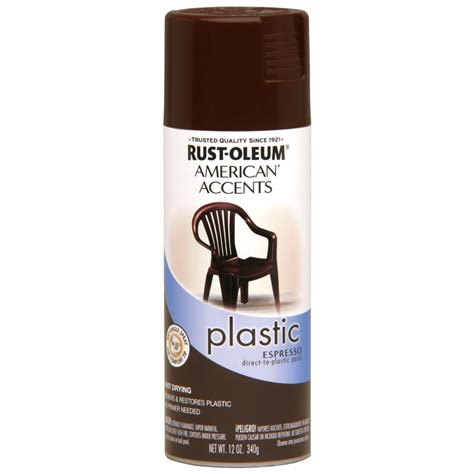 shop rust oleum 12 oz espresso gloss spray paint at lowes