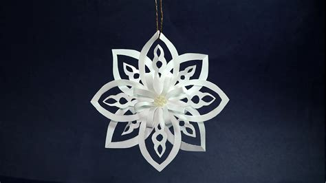 how to make paper decorations how to make paper snowflakes easy diy